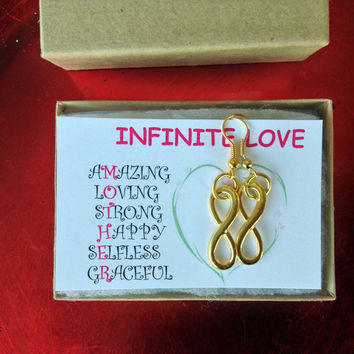 Mother's Day Gift of Infinite Love with Quote Card Perfect Gift for Graduating Moms