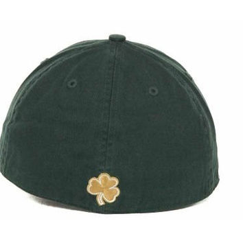 Notre Dame Fighting Irish 47 Brand Green The Franchise Fitted Hat Cap (M)