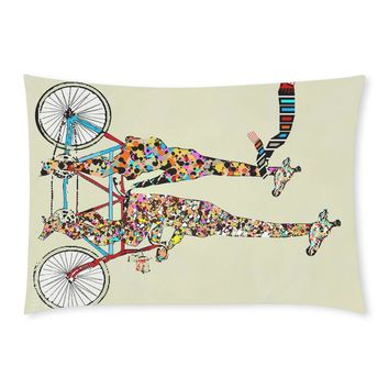 Giraffe Rectangle Pillow Case