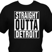 Straight Outta T-Shirt – Humor Tee  – Unisex Printed T