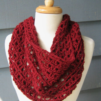 DIY / CROCHET PATTERN -  Annalyse Cowl (not the actual cowl) - Permission to Sell