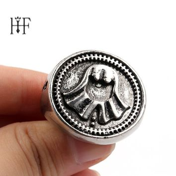 New Cool Game Of Throne Jaqen H'ghar Faceless Ring For Man jewelry Anillos Mujer Ring Men Anel Masculino Unique Movie Jewelry
