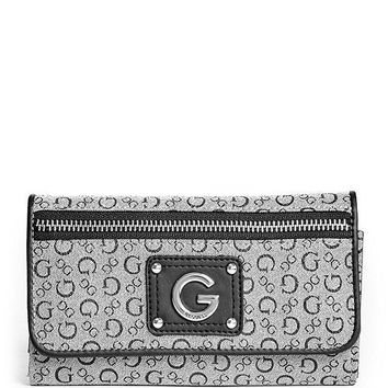G By Guess Women's Faye Slim Wallet