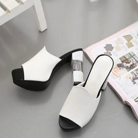 Wild Sexy Thin Heels Pumps Shoes High Heels Sandals For Ladies