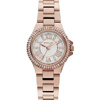 MICHAEL KORS - MK3253 Camille rose gold-toned watch | Selfridges.com