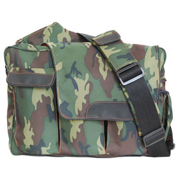 Diaper Dude Messenger II Camo Diaper Bag