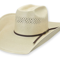 7300 Straw Hat | Shorty's Hattery - Custom Western Cowboy Hats - Hat Restoration > Product Information