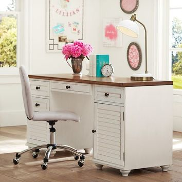 Whitney Cabinet Storage Desk