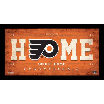 Philadelphia Flyers 10x20 Home Sweet Home Sign
