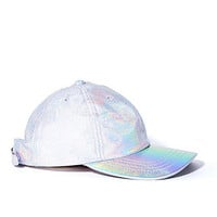 Hologram Leather Hat