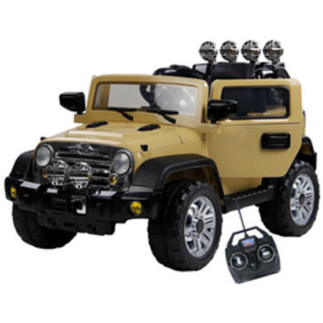 12v Jeep Style Ride on with Suspension, Doors, MP3 & Remote - £189.95 : Kids Electric Cars, Little Cars for Little People