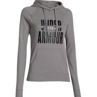 Under Armour Women's Pretty Gritty Stacked Hoodie | DICK'S Sporting Goods
