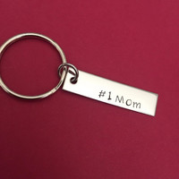 Number 1 Mom Keychain, Mothers Day Gift, Mom Keychain, Mom Gift, Mothers Gift, Best Mom , Anniversary Gift