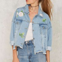 Thorn to Be Wild Denim Jacket