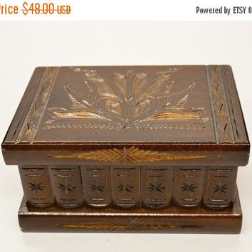 ON SALE Hungarian secret puzzle box DeluxEdition jewelry box brain teaser treasure box treasure chest accessories keepsake box personalized