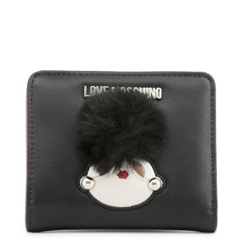 Love Moschino Black Poof Wallet