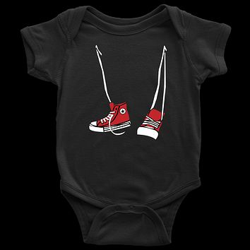 Step Brothers Inspired Hanging Sneakers Infant Bodysuit