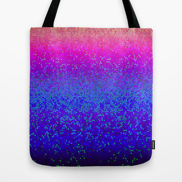 Glitter Star Dust G248 Tote Bag by MedusArt