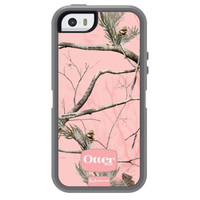 Otterbox AP Pink RealTree Camo Defender Case for Apple iPhone 5 / 5S - Cases.com