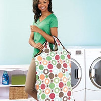 Laundry Bag Tote Hamper Large Jumbo Dorm Storage Carry Sports Beach Handles NEW