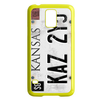 Supernatural License Plate Samsung Galaxy S5 Case