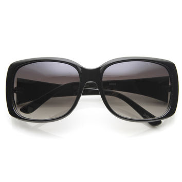Designer Inspired Womens Square Fashion Sunglasses 8923