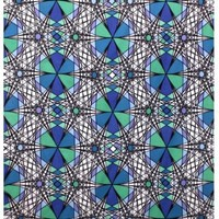 Sunshine Joy® Geo Web Psychedelic Geometric Design Tapestry - 60x90 Inches - Beach Sheet - Hanging Wall Art