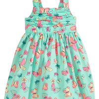 Blueberi Boulevard Baby Girls' Butterfly Dress