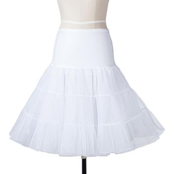 Short Organza Petticoat Crinoline Vintage Wedding Bridal Petticoat for Wedding Dresses Underskirt Rockabilly