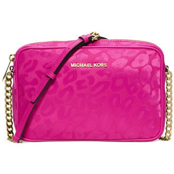 MICHAEL Michael Kors Animal Jacquard East West Crossbody, a Macy's Exclusive Style