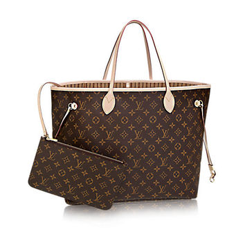 Louis Vuitton NeverFull Monogram Tote