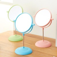 2 Side Cosmetic Rotating Stand Table Mirrors