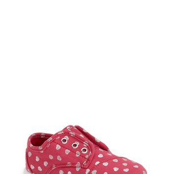 Girl's TOMS 'Paseo - Hearts Tiny' Sneaker,