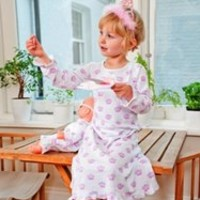 Childrens Traditional Pyjamas 100% Cotton, Easy Care at Pixie Dixie