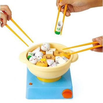 Chopstick Manner Oden Yudofu Game