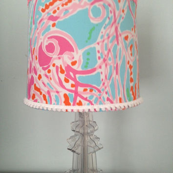 Lilly Pulitzer Jellies Be Jammin Lamp-shade ONLY