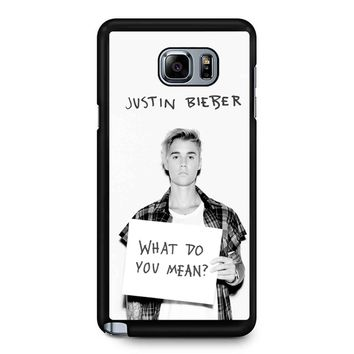 Justin Bieber What Do You Mean Samsung Galaxy Note 5 Case