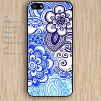 iPhone 5s case Happy Blues mandala colorful iphone case,ipod case,samsung galaxy case available plastic rubber case waterproof B040