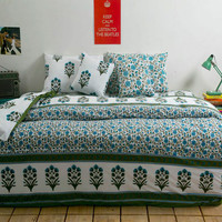 Black Mughal Print-Shop Bed in a Bag,Complete Bedding set,6 pieces of Bedding Set buy best quality only from ocean home store