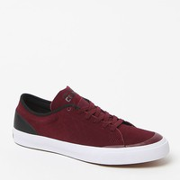Converse Sumner Burgundy & White Sneakers - Mens Shoes - Burgundy/White