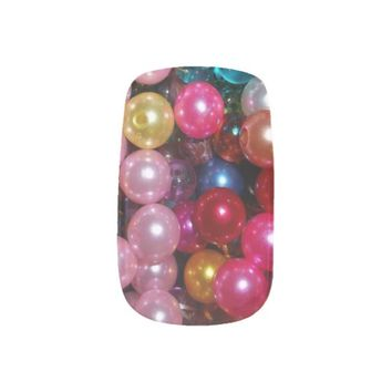 colorful beads minx® nail wraps
