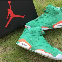 "Nike Air Jordan 6 Retro ""Gatorade"" Basketball Shoe US8-13"