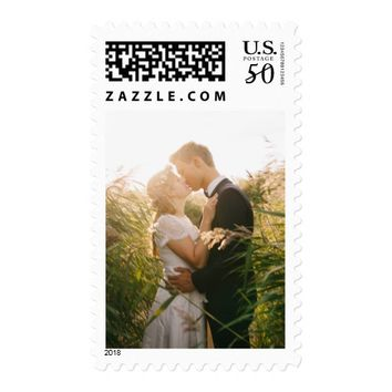 Simple Vertical Photo Postage