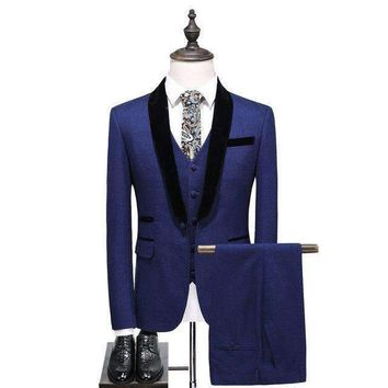 Mens Blazer Suit