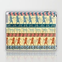 Egyptian Unicorn Pattern Laptop & iPad Skin by That's So Unicorny