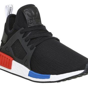 ESBONO adidas Originals NMD_XR1 PK Mens Running Trainers Sneakers (US 9.5, black white BY1909)
