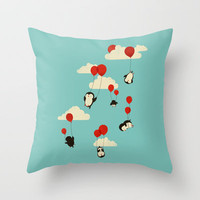 We Can Fly! Throw Pillow by Jay Fleck | Society6