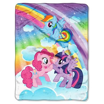 "My Little Pony® Microfleece Throw 46""x60"" - Hasbro®"