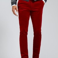 Milanese Cords - Red