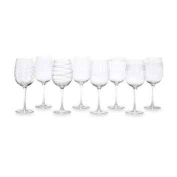 Mikasa® Cheers Too 15 3/4-Ounce Wine Glasses (Set of 8)